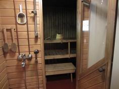 Pesutilat / sauna
