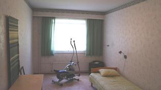 Toisesta makuuhuoneesta