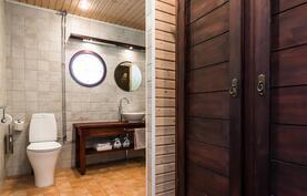 Kylpyhuoneen pukeutumistilasta