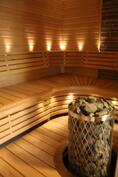 Yläkerrasta, sauna