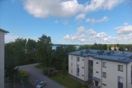 Näkymä parvekeelta / Utsikt från balkongen