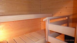 saunaa on käytetty vähän