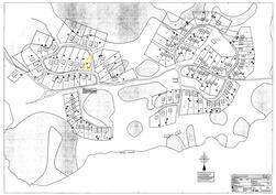 Järnön alueen tonttikartta