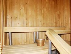 Sauna (hormi valmiina puukiukaalle).