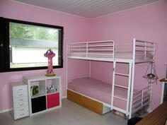 varsinaisia makuuhuoneita on kolme