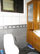 myös wc on remontoitu
