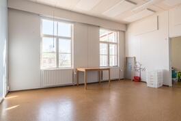 Vanhan koulun huoneita