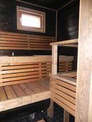 Sauna uusittu 2015