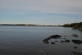 Näkymä rannasta