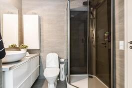 Yläkerta - Kylpyhuone