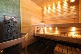Saneerattu sauna