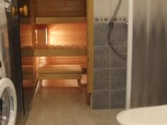 sauna, pesuhuone/ wc