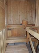 Siisti sauna.