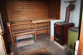 Pihasaunan sauna