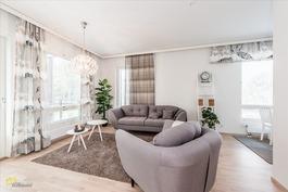 Mallisisustettu asunto A10
