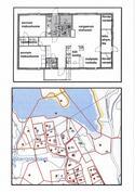 Pohjapiirros+Kartta-Bottenplan+Karta