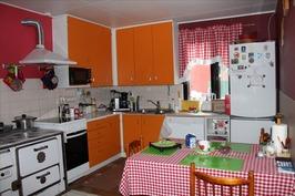 Kivan pirtsikka keittiö