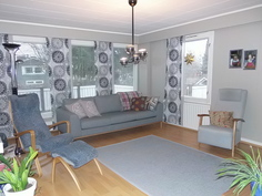 Näyttävä olohuone