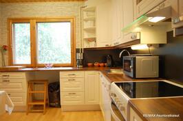 Keittiö, uusittu 2013