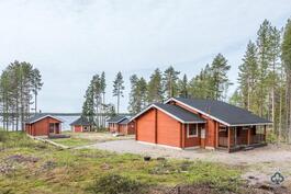 Huvila, rantasauna, vierasmaja, grillikota, laavu Otermajärven rannalla
