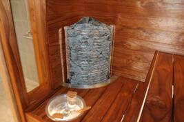 Tunnelmallinen sauna, toteutettavissa oman mielen ja maun mukaan.