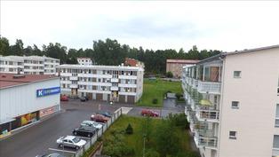 Näkymä parvekkeelta - Vy från balkongen