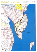 Määräala noin 13 ha (oranssi viivoitus)