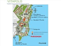 Vitapoliksen alueen kartta