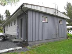Talon päädyssä 22m² harrastetila omalla sisäänkäynnillä