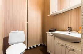 .. sekä erikoisuutena erillinen wc..