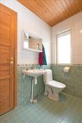 Kylpyhuoneessa wc