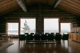 Näkymät yli Saariselän ja tunturiin