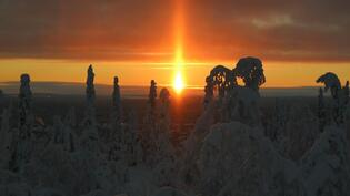 Iltarusko ja auringonlasku