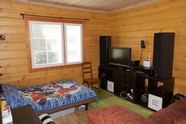 reilun kokoinen on myöskin tämä makuuhuone