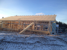 Talo B rakentaminen etenee