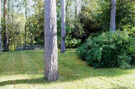 Vehreä puutarhatontti 925 m2