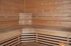 Sauna remontoitu 2012