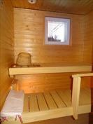 pieni kiva sauna