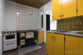 Ulkorakennuksen keittiö