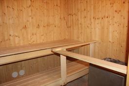 Taloyhtiössä sauna