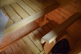 pieni ja sievä sauna