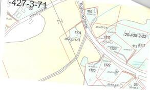 Kiinteistö kartalla nro 1104