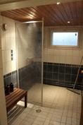Kellarikerroksen saunatilat
