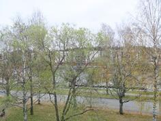 Näkymä Pielisjoen puoleiselta parvekkeelta