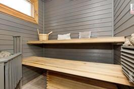 Vanhemman talon sauna