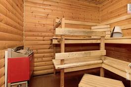 Uudemman talon sauna