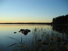 Kesällä järvi