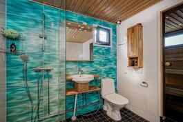 Kylpyhuone ja sauna uusittu