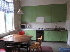 Pohjoispään asunnon keittiö