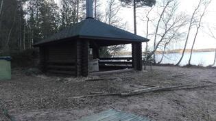 Isokiskojärveltä Salon Kaupungin uimaranta